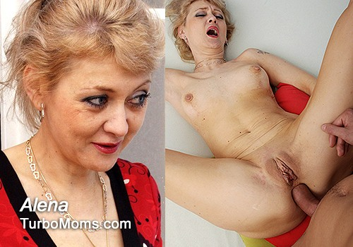 Chesty mature moms