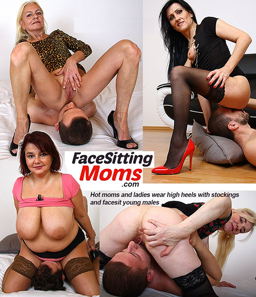 FacesittingMoms.com - mature women facesitting boys