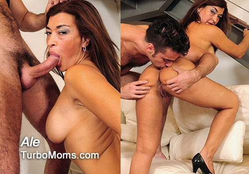 Glamorous mature Ale is the best latina milf in porn